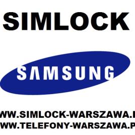 Simlock Samsung 705SC