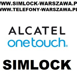 Simlock Alcatel 	 ELLE GlamPhone No. 5