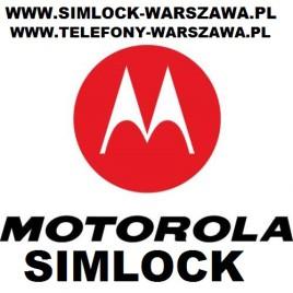 Simlock Motorola  A953 MILESTONE 2