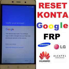 Odblokowanie Reset Usuwanie Konta Aktywacja Google FRP Sony